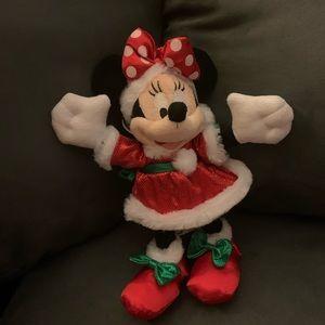 2009 Minnie Mouse xmas plush